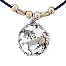 Siskiyou PT232S Earth Spirit Necklace - Unicorn