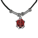 Siskiyou Buckle PT241S Earth Spirit Necklace - Lady Bug