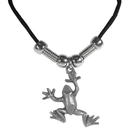 Siskiyou Buckle PT32S Earth Spirit Necklace - Frog