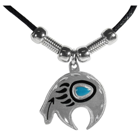 Siskiyou PT3S Earth Spirit Necklace - Bear Fetish