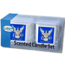 Siskiyou Buckle S2CD17 Navy Candle Set
