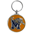 Siskiyou Buckle SCK103 Memphis Tigers Carved Metal Key Chain