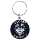 Siskiyou Buckle SCK81 College  Team Logo Key Ring - UCONN Huskies
