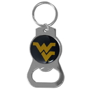 Siskiyou Buckle SCKB60 W. Virginia Mountaineers Bottle Opener Key Chain