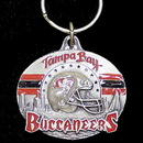 Siskiyou Buckle SFK031 NFL Team Design Key Ring - Tampa Bay Buccaneers