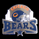 Siskiyou Buckle SFP005C Chicago Bears Glossy Team Pin