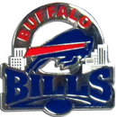 Siskiyou Buckle SFP015C Buffalo Bills Glossy Team Pin