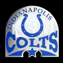 Siskiyou Buckle SFP050C Indianapolis Colts Glossy Team Pin