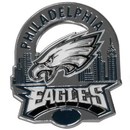 Siskiyou Buckle SFP065C Philadelphia Eagles Glossy Team Pin