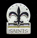 Siskiyou Buckle SFP151 New Orleans Saints Team Pin