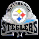 Siskiyou Buckle SFP160C Pittsburgh Steelers Glossy Team Pin