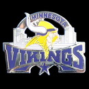 Siskiyou Buckle SFP165C Minnesota Vikings Glossy Team Pin