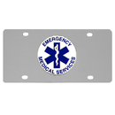 Siskiyou Buckle SPLT50 EMS Logo License Plate