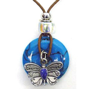 Siskiyou Buckle TP209 Necklace - Butterfly