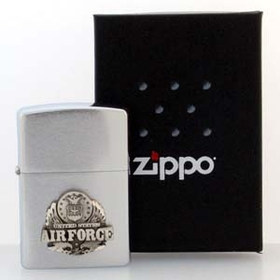 Siskiyou ZS16 Armed Forces Zippo Lighter - Air Force