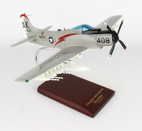 Toys and Models AA1NT A1H Skyraider USN, 1/40 scale model