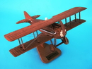 Toys and Models ASPRNWT SPAD XIII Natural Wood, 1/20 scale model