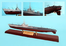 Toys and Models MBBSGCT Gato Submarine, 1/150 scale model
