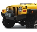 Bestop BST42901-01 HighRock 4x4 Front Winch Bumper in Black