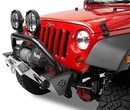 Bestop BST42933-01 HighRock 4x4 Narrow Front Winch Bumper in Black