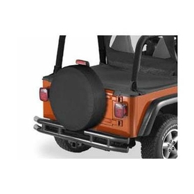 Bestop BST61028-35 28 inch Spare Tire Cover in Black Diamond