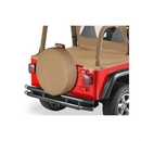 Bestop BST61031-37 31 inch Spare Tire Cover in Spice