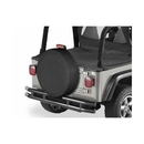 Bestop BST61035-15 35 inch Spare Tire Cover in Black Denim