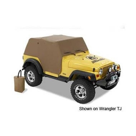Bestop BST81036-37 All Weather Full Door Coverage Trail Cover