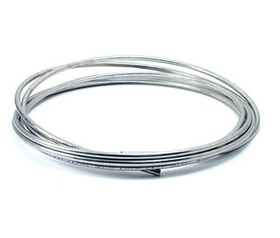 """Classic Tube CLTC5S 5/16"""" Stainless Steel Fuel Line Coil"""
