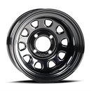 ITP ITPD12R511 Delta Steel Wheel - Black