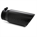 MBRP Exhaust MBRT5053BLK Dual Walled Angled Exhaust Tip