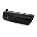 MBRP Exhaust MBRT5112BLK Angled Rolled End Exhaust Tip