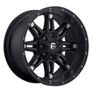 MHT Luxury Alloys MHTD53117902745 D531 Hostage, 17x9 with 6 on 4.5 and 6 on 5 Bolt Pattern - Black
