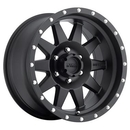 Method Race Wheels MRWMR30168012500 The Standard, 16x8 with 5 on 4.5 Bolt Pattern - Black Painted