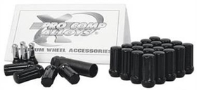 "Pro Comp PXA26143B 20-Piece 14x1.5"" Black Lug Nut Kit"