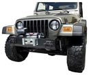 Rugged Ridge RUG11540-40 Short Base Winch Mount Bumper Center Section