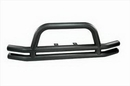 Rugged Ridge RUG11561-01 Dual Tube Front Bumper with Center Hoop