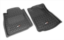 Rugged Ridge RUG82904-20 All Terrain Floor Liner, Front