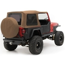 Smittybilt S-B9870217 Replacement Soft Top with Tinted Windows