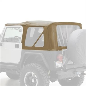 Smittybilt S/B9970217 Replacement Soft Top with Tinted Windows