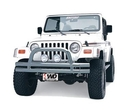 Smittybilt S-BJB44-FS Front Bumper with Hoop in Stainless Steel
