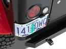 Warrior Products W-I1561 Corner Mount License Plate Bracket with LED Light