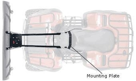 Warn Industries WAR37851 Warn ProVantage, ATV Plow, Center Mounting Kit