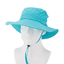 TopTie Eyelets Boonie Hat, Adjustable Chin Strap Sun Hat