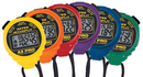 ACCUSPLIT Rainbow AX725-X6R 6-Pack of AX Pro Memory stopwatches