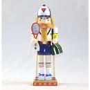 Tennis Nutcracker Mantle Piece 12