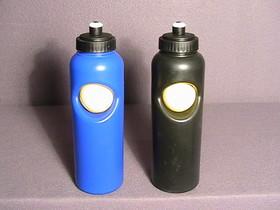 Tennis Ball Water Bottle PVC-Blue