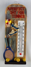 Tennis Thermometer Stand