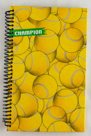 Tennis Side Coil Spiral Notebook