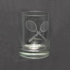 "Sterling Double ""Old Fashion Glass"""